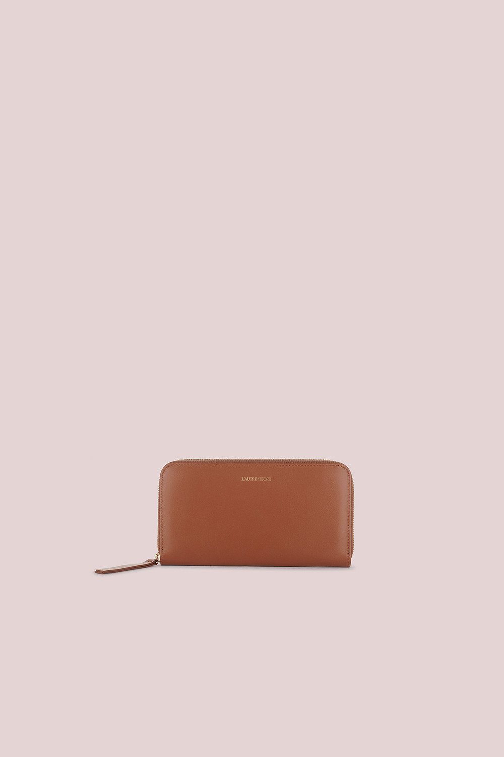 WALLET IN TAN LEATHER