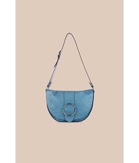 MINI LIGHT-BLUE SHOULDER BAG