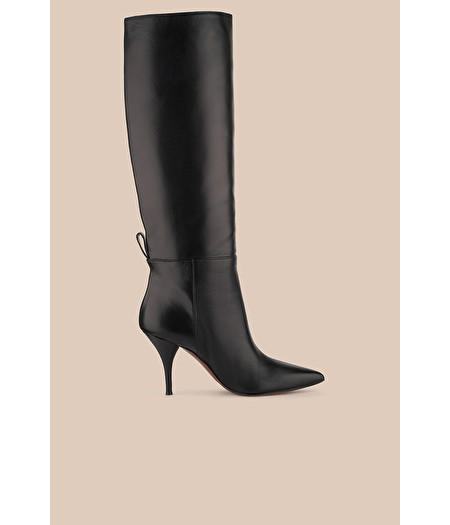 BLACK NAPPA PULL-ON BOOT