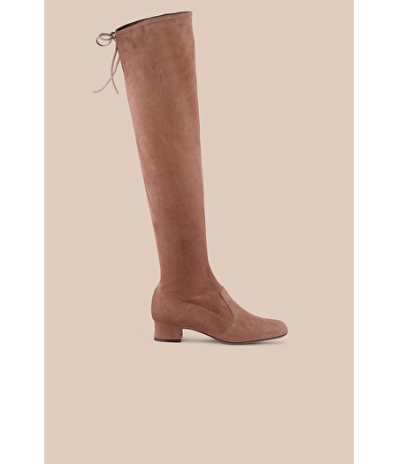 NUDE OVER-THE-KNEE BOOT